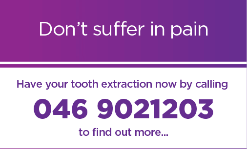 Dont Suffer in pain have your tooth extracted